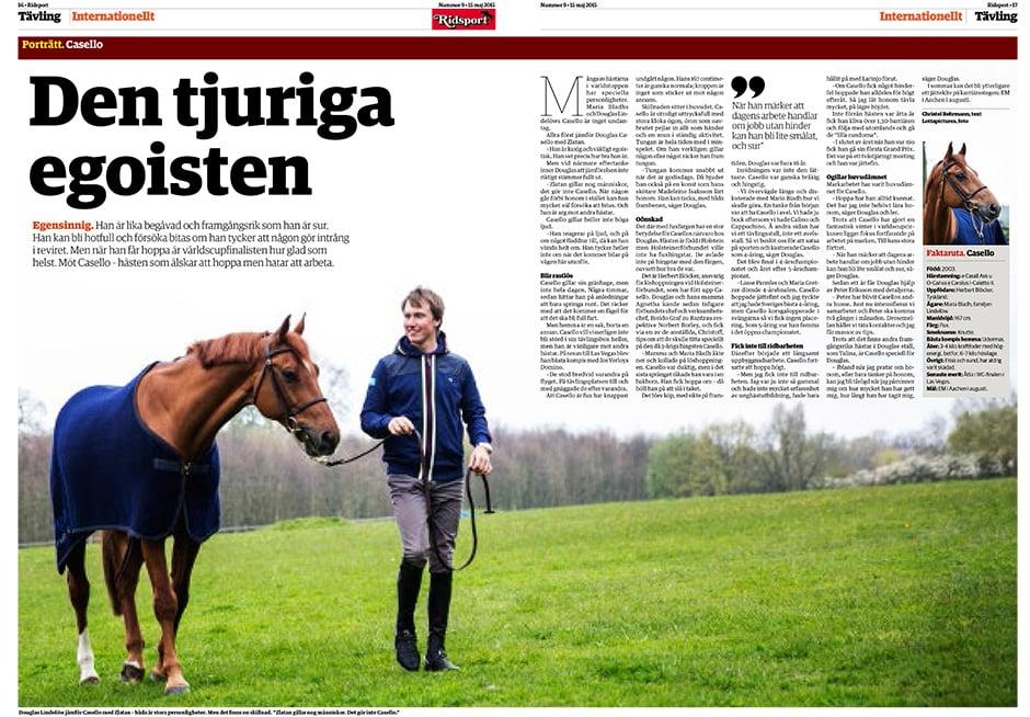 Tidningen Ridsport nr 9/2015