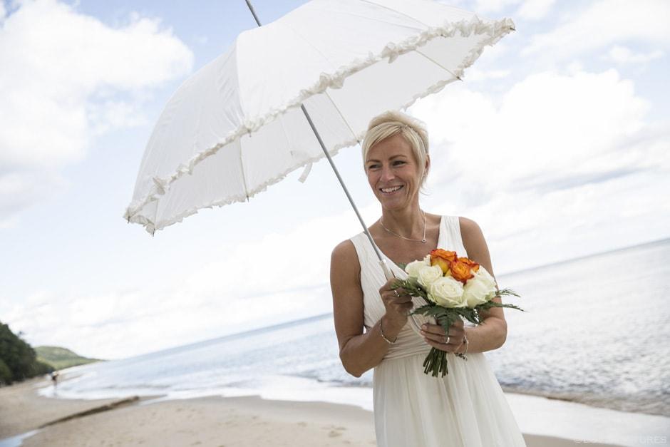 fest efter hemligt bröllop