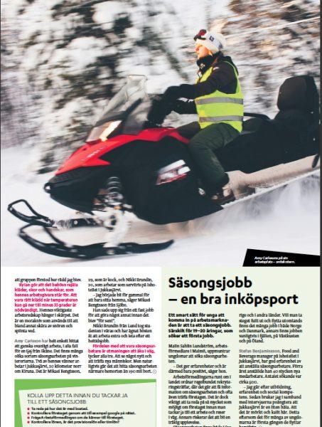Scouterförare i Kiruna