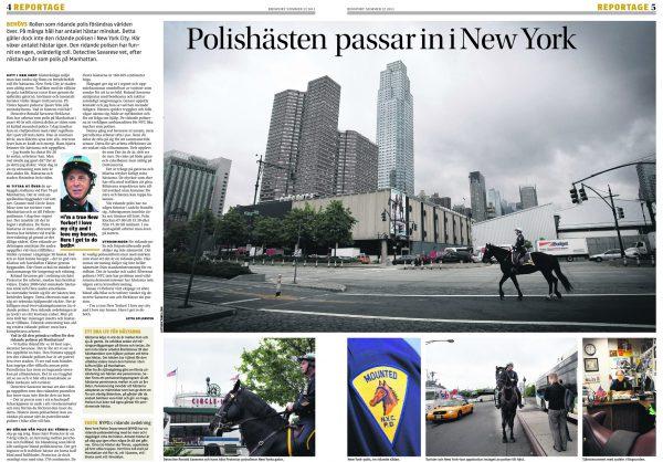 NYPD Manhattan.
