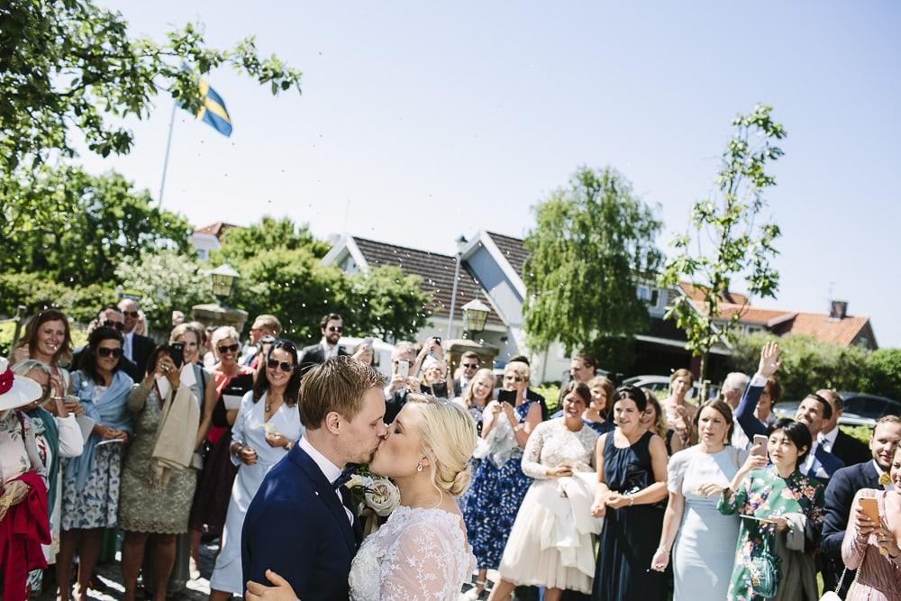 bröllopsfotograf Vikens kyrka